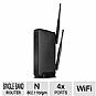 Amped Wireless R10000 High Power Wireless-N 600mW Smart Router - 802.11b/g/n, 2.4GHz, 300Mbps, RJ-45 (Refurbished)