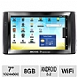 "Archos 501972 70b Google Certified Internet Tablet - Android 3.2 Honeycomb, ARM Cortex A8 1.2GHz, 7"" Multi-Touch, 8GB Flash, 512MB Memory, WiFi, Webcam, Kick stand, Google Certified, Google Play apps"