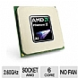 AMD HDT35TWFK6DGR Phenom II X6 1035T Processor - Six Core, 6MB L3 Cache, 3MB L2 Cache, 2.60GHz (3.1GHz Max Turbo), Socket AM3, 95W, No Fan, OEM