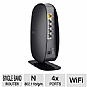 Belkin F9K1003 N450 Wireless N+ Router - 4x Ports, Up to 450Mbps, 2.4GHz, RJ-45, 802.11b/g/n