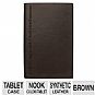 Barnes & Noble B211-4023 Johnson Quote Cover for Nook Color and Nook Tablet - Brown