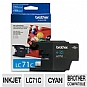More Info on Brother LC71C - Cyan - original - ink cartridge - for  MFC-J280, MFC-J425, MFC-J430, MFC-J435, MFC-J625, MFC-J825, (LC71C)