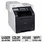 More Info on Brother MFC-9970CDW Wireless Color Laser Multifunction Printer - 2400 x 600 dpi, 30ppm Color & Black, Copy, Scan, Fax, Networking, Duplex (2-sided printing), Print from Mobile Device