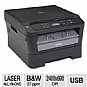 More Info on Brother DCP-7060D Compact Mono Laser  Multifunction Printer - 2400 x 600 dpi, Auto Duplex (2-sided), Print, Copy, Scan, 27ppm, 200MHz, 32MB