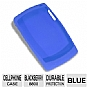 RIM Rubber Cell Phone Skin For Blackberry 8800 - Blue