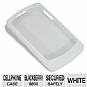 RIM HDW-13751-002 Rubber Cell Phone Skin - For Blackberry 8800, White