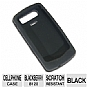 RIM Rubber Cell Phone Skin For Blackberry 8120 - Black