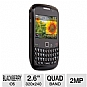 Blackberry Curve 8520 BB8520 WCL Unlocked GSM Cell Phone - Blackberry OS 5.0, QWERTY Keyboard, 256MB, 5MP Camera, Wi-Fi, Bluetooth, microSD, microUSB, Email, Organizer