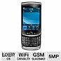 Blackberry Torch 9800 BBERRY9800REFURB Unlocked GSM Cell Phone - Quad-Band, 5MP Camera, 512MB Integrated Memory, QWERTY Keyboard, International Version, Black, Refurbished