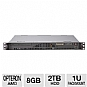More Info on CybertronPC Caliber TSVCAA380 1U Rackmount Server - AMD Opteron Eight-Core 6128 2.00GHz, 8GB DDR3, 2 x 1TB HDD, RAID 0/1, DVDRW, Dual Gigabit LAN, 350-Watt, No OS