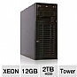More Info on CybertronPC Imperium TSVIIB1281 Tower Server - 2x Intel Xeon E5506 2.13GHz, 12GB DDR3 ECC, 4x 500GB Hot-Swap HDD, RAID 10 Array, DVDRW, IPMI, No OS