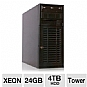 More Info on CybertronPC Imperium TSVIIB1381 Tower Server - 2x Intel Xeon E5506 2.13GHz, 24GB DDR3 ECC, 4x 1TB Hot-Swap HDD, RAID 10 Array, DVDRW, IPMI, No OS