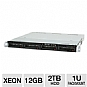 More Info on CybertronPC Magnum TSVMIB141 1U Rackmount Server - 2x Intel Xeon E5503 2.00GHz, 12GB DDR3 ECC, 4x 500GB Hot-Swap HDD, RAID 5 Array, DVDRW, 2x Gigabit LAN, IPMI Port, No OS