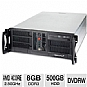 More Info on CybertronPC Quantum TSVQBA1522 4U Rackmount Server - AMD A4-3300 2.50GHz, 8GB DDR3, 500GB HDD, Gigabit LAN, DVDRW, No OS