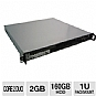 More Info on CybertronPC Quantum XS1020 PCSERQXS1020 1U Rackmount Server - Intel Core 2 Duo E4500 2.20GHz, 2GB DDR2, 160GB HDD, DVDRW, 10/100 LAN, ASUS P5N73-AM, No OS, Short Depth Case