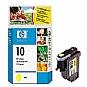 HP 10 C4803A Yellow Printhead Cartridge - 12,000 Minimum Pages (Open Box)- C4803A