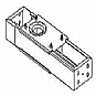 Peerless ACC 120 - Mounting component ( ceiling plate ) - steel - black - in-ceiling mounted, between seats