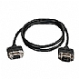 More Info on C2G CMG-Rated DB9 Low Profile Null Modem M-F - Null modem cable - DB-9 (M) - DB-9 (F) - 6 ft - molded, thumbscrews - black