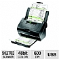 More Info on Epson Workforce Pro GT-S50 Sheet-fed Scanner Refurb - 75-page ADF (with Duplex Scanning), up to 25 ppm / 50 ipm (200 dpi B&W), up to 600 dpi Optical Resolution, 2-line LCD, Windows & MAC Compatible
