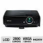 More Info on Epson MG-850HD Megaplex All-in-One 3LCD Projector - 2800 ANSI Lumens, HD 720p, 1280 x 800, 3000:1, HDMI, VGA, USB, Built-in Dock, Stereo, 12.55 lbs.