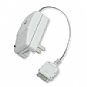 Emerge Retractable iPod/iPhone Wall Charger - White