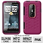 HTC 70H00425-00M Silicone Smerge Cell Phone Case for Evo 3D, Pink
