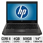 "HP ProBook 6460b A7K53UT Notebook PC - Intel Core i5-2450M 2.5GHz, 4GB DDR3, 500GB HDD, DVDRW, 14"" Display, Windows 7 Professional 64-bit (Refurbished)"