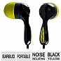 Jlab JB-Classic BLK/YW Classic Noise Isolating Earbuds - Black/Yellow