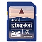 More Info on Kingston 4GB SDHC Class 4 Flash Card