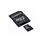 More Info on Kingston SDC4/4GB Micro SDHC Class 4 Flash Card - 4GB, Adapter