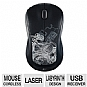 Logitech 910-002484 M310 Wireless Mouse - 2.4GHz, Plug-and-Forget Nano Receiver, Ambidextrous, Labyrinth