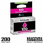 More Info on Lexmark 100 14N0901 Magenta Ink Cartridge