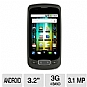 LG P500 Optimus One Unlocked GSM Cell Phone -Touchscreen, MicroUSB, Wi-Fi, Geo-tagging, Android OS, Google Search, Voice Memo, Black (Refurbished)