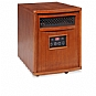 LIFESMART LS-PP1500-6 Infrared Heater - Dual heat settings, LED display, Caster wheels, Remote control (Refurbished)