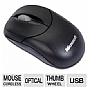 Microsoft U81-00009 Compact Optical Mouse 500 - 3-Button