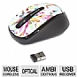 Microsoft GMF-00090 Wireless Mobile Mouse 3500 - Artist Edition, BlueTrack Technology, Plug-and-Go Nano Transceiver, On and Off Switch, Ambidextrous Design