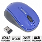 Microsoft GMF-00088 Wireless Mobile Mouse 3500 - BlueTrack Technology, Plug-and-Go Nano Transceiver, On and Off Switch, Ambidextrous Design, 8-Month Battery Life, Blue