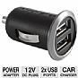 Monster Mobile PowerPlug Dual USB 700 Car Charger - For 12V Car Lighter, 2 USB Ports