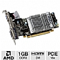 MSI R5450-MD1GD3H/LP Radeon HD 5450 Video Card - 1GB, DDR3, PCI-Express 2.0, VGA, HDMI, DVI, DirectX 11, Single-Slot, Low Profile