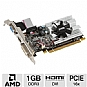 MSI Radeon HD 6450 R6450-MD1GD3/LP Video Card - 1GB, DDR3, PCI-Express 2.1(x16), 1x Dual-link DVI-D, 1x HDMI, 1x VGA, DirectX 11, Single-Slot, Low Profile