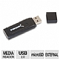 Sabrent CR-MSD2 Micro SD/ TransFlash USB 2.0 Card Reader