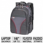 Microsoft 39307 MT Laptop Backpack - Fits Notebook PCs up to 16""