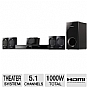 Pansonic SC-XH170 DVD Home Theater System - 5.1 Channel, 1000 Watts Total, HDMI, SD Memory Card Slot, USB (Refurbished)