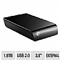 Seagate ST315005EXA101-RK External Desktop 1.5TB Hard Drive - 1.5TB, USB 2.0, 3.5&quot; (Refurbished)