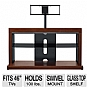 "PROFORMA 460AC TV Stand - Up to 46"", Swivel, Cherry"