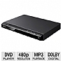 Sony DVP-SR210P DVD Player - Progressive Scan 480p, Multi Disc Resume 6 Disc, Dolby Digital, MP3 Playback, Remote Control   (Refurbished)