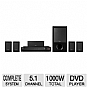 Sony DAV-DZ170 Bravia Theater System - 1000W, 5.1 Channel Surround Sound, HD DVD Upscaling (Refurbished)