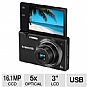 "Samsung MV800 EC-MV800ZBPBUS Digital Camera - 16 MegaPixels, 5x Optical Zoom, 3"" Mutli-Angle LCD, Face Detection  (Refurbished)"