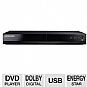 Samsung DVDE360 DVD Player - ConnectShare Movie, Dolby Digital Decoding, Progressive Scan, MP3, USB 2.0  (Refurbished)