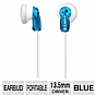 Sony MDRE9LP/BLU Fashion Earbud Headphones - Blue 